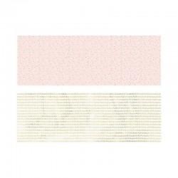 PAPIER pakowy ozdobny szlaczki i konfetti MIX 2szt 70x200cm