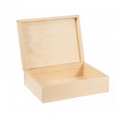 PUDEŁKO drewniane kasetka 22x16,5cm