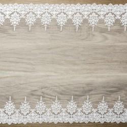KORONKA dekoracyjna Lux 45cm x 9m