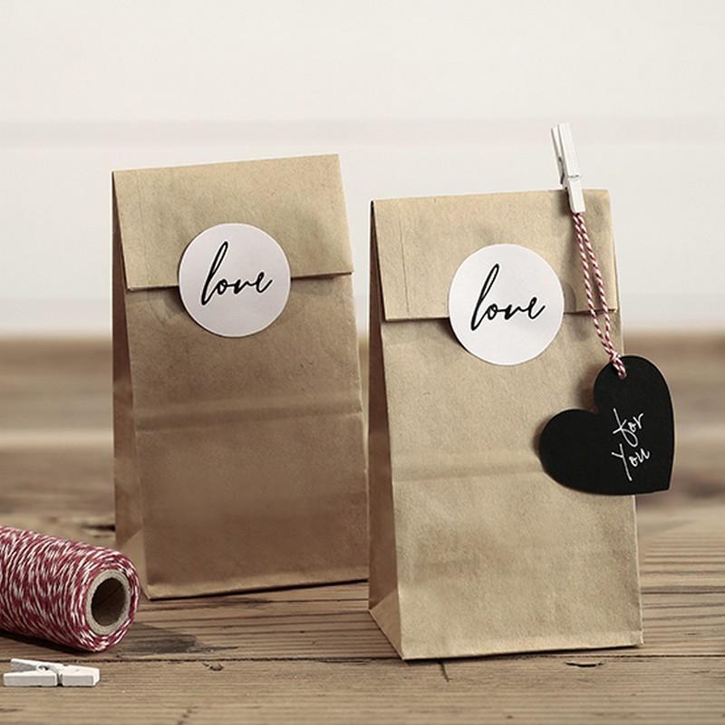 Kraftowe papierowe torebki