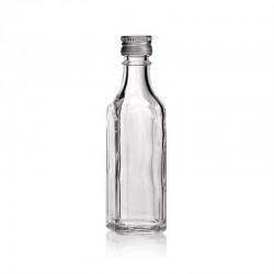 BUTELECZKA szklana z zakrętką 50ml