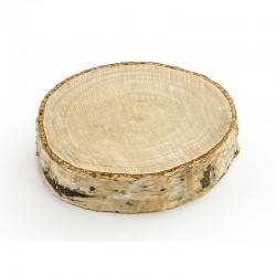 KRĄŻKI drewniane naturalne 20szt 4,5-6,5cm