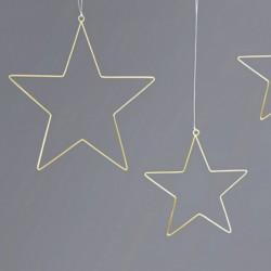 ZAWIESZKI metalowe do aranżacji Gwiazdy 2szt