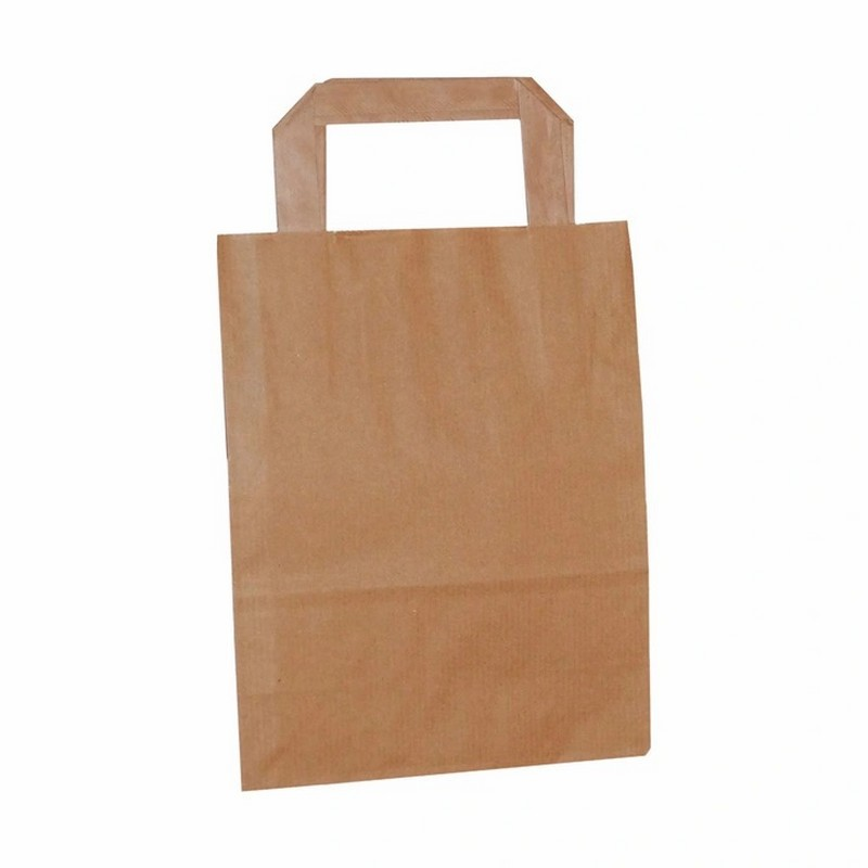 papierowe torby z uchwytem