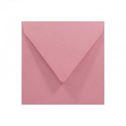 KOPERTY kwadratowe ozdobne 10szt różowe