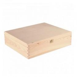 SKRZYNIA drewniana duża 30x36x10cm
