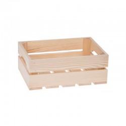 SKRZYNKA drewniana naturalna 30x20x15cm
