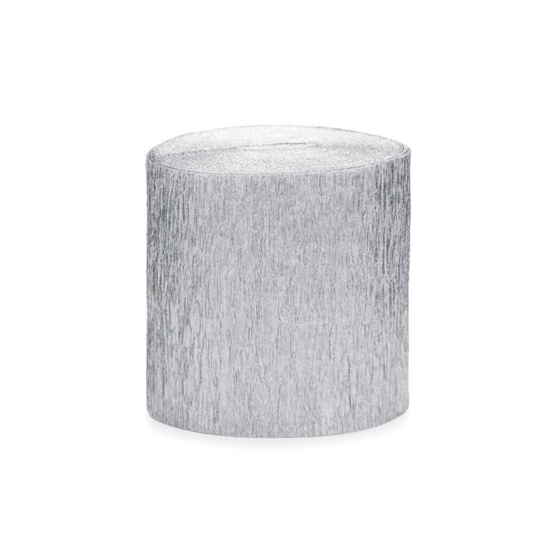 srebrna bibuła do pakowania