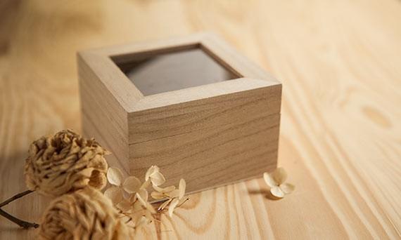 pudełka drewniane
